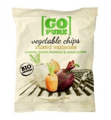GoPure Chipsy warzywne...