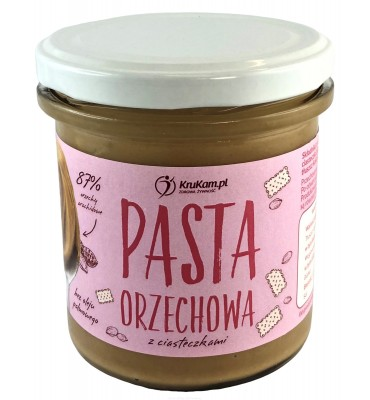 Krukam Pasta orzechowa z...