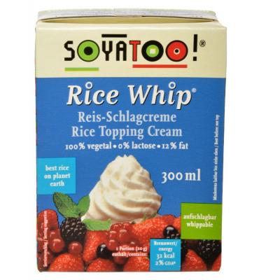Soyatoo Śmietanka ryżowa do...